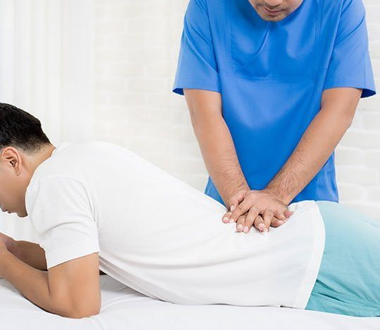 Manual Adjustment for Back Pain